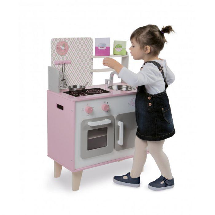 Janod Cuisine Pour Enfants Macaron Bois Cuisines Pour