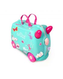 Trunki - Fée Flora - Ride-on et valise de voyage - Bleu