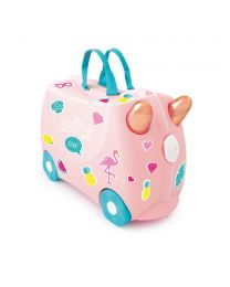 Trunki - Flamant Flossi - Ride-on et valise de voyage - Rose