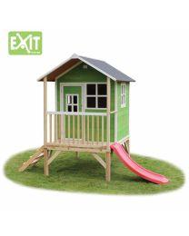 Exit - Loft 300 Vert - Cabane pour enfants en bois