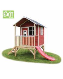 Exit - Loft 300 Rouge - Cabane pour enfants en bois