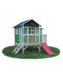 Exit - Loft 350 Vert - Cabane pour enfants en bois