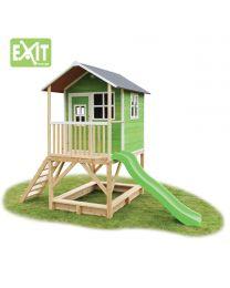 Exit - Loft 500 Vert - Cabane pour enfants en bois