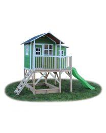 Exit - Loft 550 Vert - Cabane pour enfants en bois