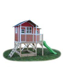 Exit - Loft 550 Rouge - Cabane pour enfants en bois