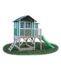 Exit - Loft 750 Vert - Cabane pour enfants en bois