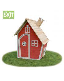 Exit - Fantasia 100 Rouge - Cabane pour enfants en bois