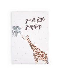 Childhome - Peinture Bebe Giraffe - 30x40 cm - Pour La Pépinière