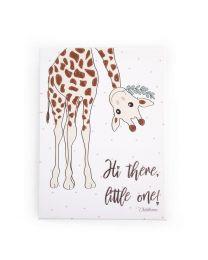 Childhome - Peinture Maman Giraffe - 30x40 cm - Pour La Pépinière