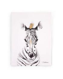Childhome - Peinture Zebre - 30x40 cm - Pour La Pépinière