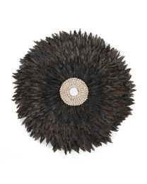 Childhome - Juju Feathers 50 Cm - Anthracite - Décoration Murale