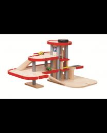 Plan Toys - Ensemble de Garage 6271 - Bois