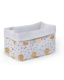 Childhome - Canvas Box Foldable - 32x20x20 cm - Boules Dorees