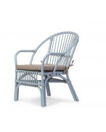 Childhome - Montana Chaise pour enfants et Coussin - Bleu