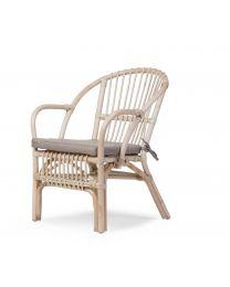 Childhome - Montana Chaise pour enfants et Coussin - Natur