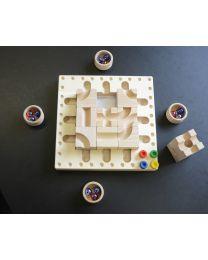 Cuboro - Tricky Ways - Circuit de billes en bois