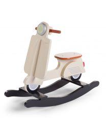 Childhome - Scooter Cream -  Cheval à bascule en bois