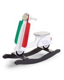 Childhome - Scooter Italy -  Cheval à bascule en bois