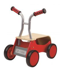 Hape - Little Red Rider - Draisienne en bois - Rouge