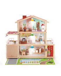 Hape - Doll Family Mansion - Maison de poupées en bois