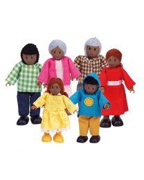 Hape - Poupées (afro-américaine) - Pour la maison de poupée