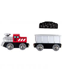 Hape - Lift & Load Mining Play Set - Train en bois