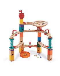 Hape - Quadrilla Castle Escape - Circuit de billes en bois