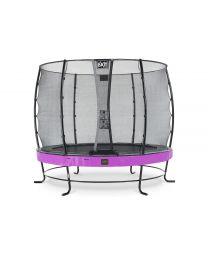 Exit - Elegant Premium Trampoline+ Filet De Sécurité Economy - Violet