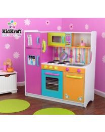 Kidkraft - Grande Cuisine piur enfants de Luxe Aux Couleurs Vives