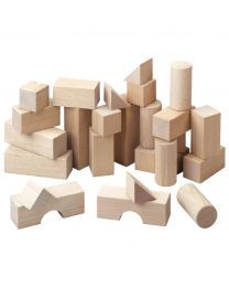 Haba - Set de base – Blocs de construction - Bois