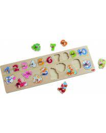 Haba - Puzzle S'Amuser À Compter Les Animaux