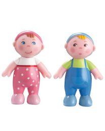Haba - Little Friends - Poupées Flexibles Bébés Marie Et Max