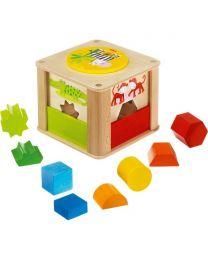 Haba - Boîte à Formes Les Animaux Du Zoo