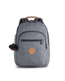 Kipling - Seoul Go S Craft Navy Combo - Cartable Gris