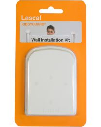 Kiddy Guard - Mur Instal. Kit Blanc - Pour la clôture des enfants