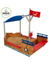 Kidkraft - Bateau Pirate Des Sables