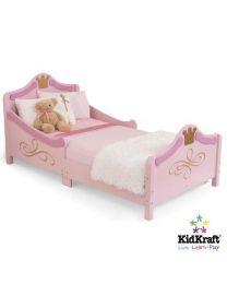 Kidkraft - Lit d'enfant pour les tout-petits Princesse - Bois