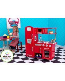 Kidkraft - Cuisine pour enfants Vintage Rouge