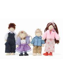 Le Toy Van - Famille de Poupées - Pour la maison de poupée