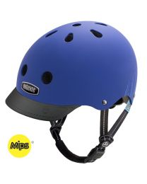 Nutcase - Little Nutty - Blue Bubbles - MIPS - Casque pour enfants (48-52cm)