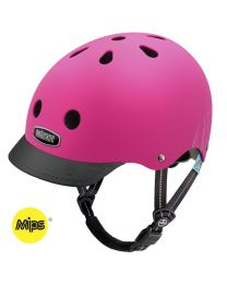 Nutcase - Little Nutty - Pink Bubbles - MIPS - Casque pour enfants (48-52cm)