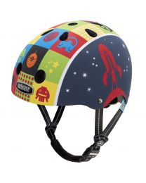 Nutcase - Little Nutty - Space Cadet - Casque pour enfants (48-52cm)