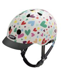 Nutcase - Little Nutty - Happy Hearts - Casque pour enfants (48-52cm)