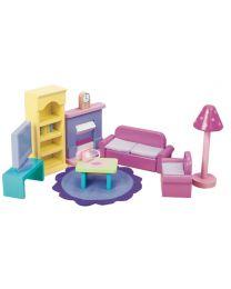 Le Toy Van - Salon Sugar Plum - Pour maison de poupée