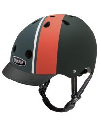 Nutcase - Street Element Stripe Matte - M - Casque de vélo (56-60cm)