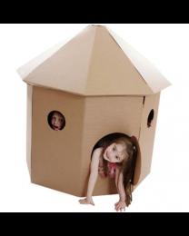 Paperpod - Refuge en carton Brun