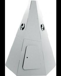 Paperpod - Tipi en carton Blanc