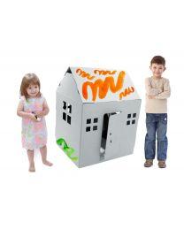 Paperpod - Maison De Jeu en carton Blanc