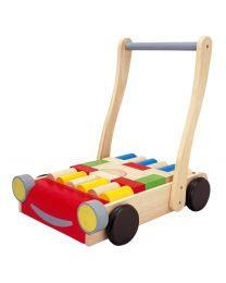 Plan Toys - Babywalker – Porteur en bois