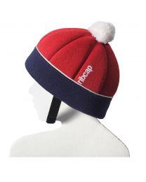 Ribcap - Ribcap Freddie Red/Marine Midi Kids - 52-52cm